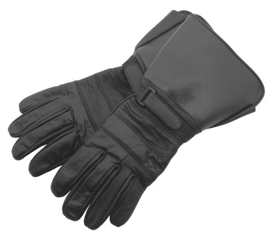 TRADITIONAL GAUNTLET GLOVES, LARGE