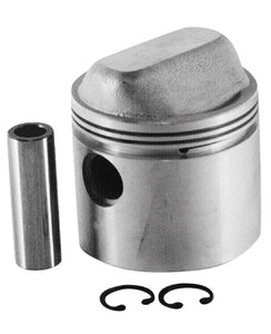 "Piston, Cast 9.5:1 +.030"" OS Sportster 1000Cc W/Pin and Lock Rings 3-3/16"" Std Bore Std Comp"