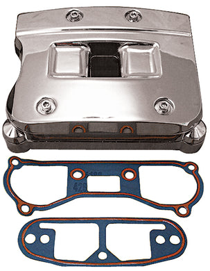 ROCKER ARM COVER ASSEMBLY BT EVO 1984/91 CHROME RPLS HD 17528-84A,17529-84A,17530-84B