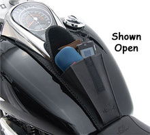 Load image into Gallery viewer, Tank Bib Pouch Plain Fits Softail FLSTb 2008/L* FLSTC 2009/Later Mustang# 93348