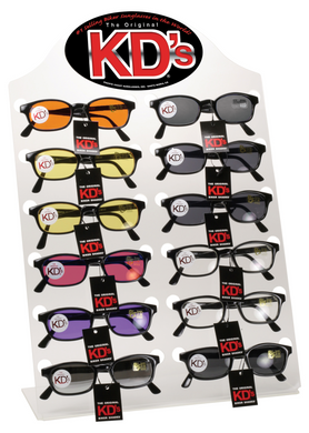 KD SUNGLASS COUNTER DISPLAY ONLY HOLDS 12 PAIR PCSUN# 500