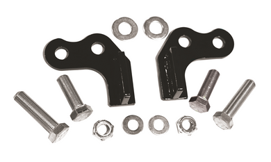 REAR LOWERING BLOCK KIT,BLACK 2000-2013 XL,1