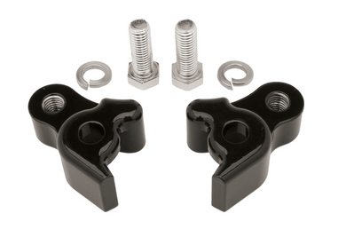 REAR LOWERING BLOCK KIT,BLACK FITS FL MODELS 2009-2016 1