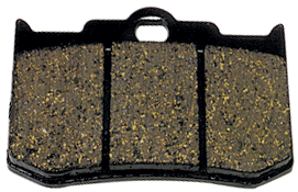 BRAKE PADS,SBS 662H.CT,CARBON FITS PERFORMANCE MACHINE FRONT CALIPER # 124X4HR & 137X4