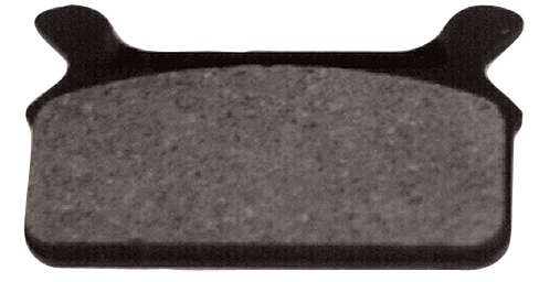 BRAKE PADS,SBS 668H.CT,CARBON FLT FLH MODELS 1986/1999 REAR REPLACES HD 43957-86B