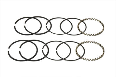 3-1/2 Evolution Piston Ring Set .010 Oversize FXST 1984/1998 FLST 1986/1998 FLT 1984/1998 FXD 1991/1998 XL 1988/2003