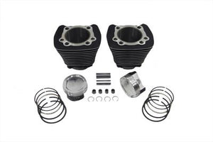 1200Cc Cylinder And Piston Conversion Kit Black XL 1986/2003
