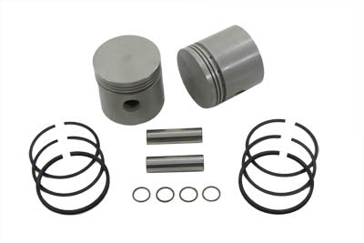 3-7/16 Piston Set .020 Oversize Ulh 1937/1948