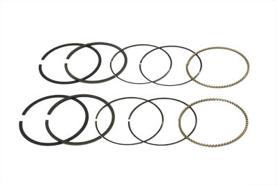 95 Big Bore Twin Cam Piston Ring Set .005 Replacement 0/