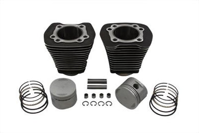 Evolution Cylinder and Piston Kit Black FXST 1984/1998 FLST 1986/1998 FXR 1984/1994 FLT 1984/1998 FXD 1991/1998