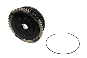 CLUTCH ASSEMBLY WITH RATCHET PLATE AND RING GEAR XL 1971/1980