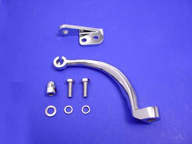 CLUTCH RELEASE LEVER SET CHROME FLT 1982/1986 FXR 1982/1986 FLT 1982/1986 FXR 1982/1986