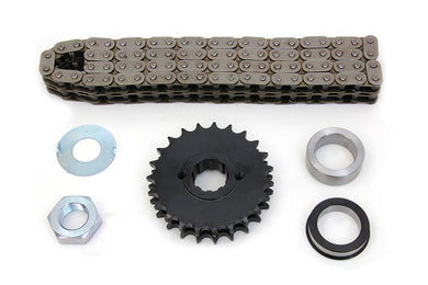 23 TOOTH SPROCKET AND CHAIN KIT FL 1955/1969