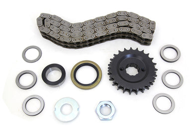 23 TOOTH SPROCKET AND CHAIN KIT FL 1970/1984 FX 1970/1984