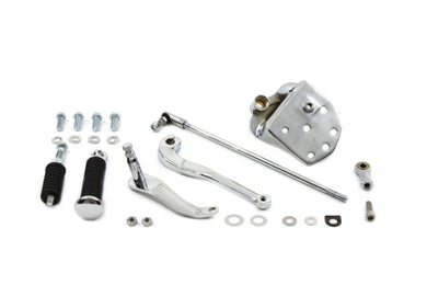 CHROME REPLICA SHIFTER CONTROL KIT FXST 1990/1999