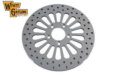 11-1/2  WYATT GATLING REAR BRAKE DISC 18 SPOKE STYLE FXST 2000/2014 XL 2000/2013 FLST 2000/2014 FXD 2000/2005 FLT 2000/2007
