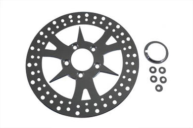 11-1/2  FRONT OR REAR BRAKE DISC SPIKE STYLE XL 1984/2009 FXST 1984/UP FLST 1986/UP FXD 1991/2017 FXST 1984/2014 FLST 1984/2014 XL 1984/2013 FXD 1991/2005