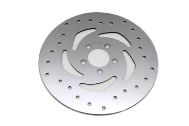 11.8  DRILLED FRONT BRAKE DISC XL 2014/UP FXST 2015/UP FLST 2015/UP FXD 2006/2017 FLT 2008/UP
