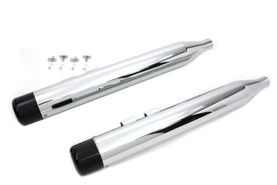 MUFFLER SET WITH BLACK HOLLOW POINT END TIPS FLT 1995/2016