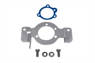 Chrome Carburetor Support Bracket FXST 1984/1999 FLT 1984/1999 FXR 1984/1994 FXD 1991/1999