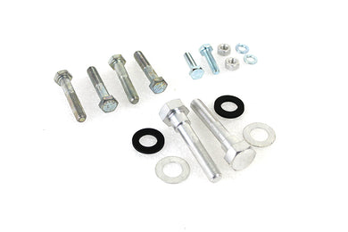 SADDLEBAG GUARD AND SUPPORT BRACKETS MOUNTING KIT FL 1965/1967