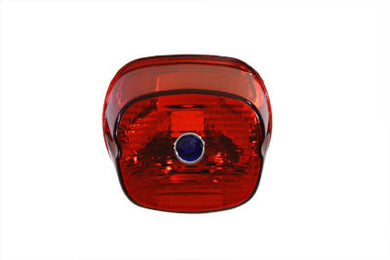Tail Lamp Lens Laydown Style Red With Blue Dot FLT 2003/Up