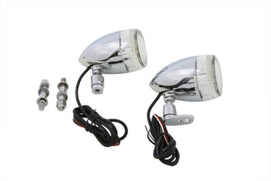 BULLET TURN SIGNAL SET WITH SWIVEL MOUNT Custom 0/