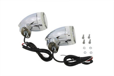 BULLET TURN SIGNAL SET WITH FL MOUNT FL 1965/1984