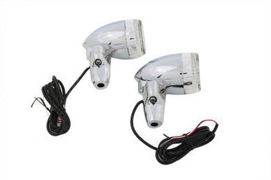 BULLET TURN SIGNAL SET WITH STAND OFF MOUNT Custom 0/