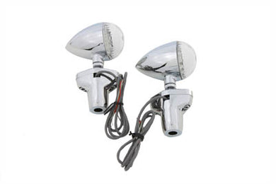 LED TURN SIGNAL SET WITH STAND OFF MOUNT Custom 0/
