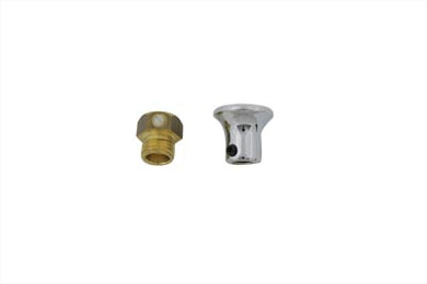 Carburetor Choke Cable Knob Chrome Replacement 0/