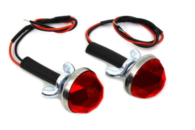 RED LED REFLECTOR SET Custom 0/