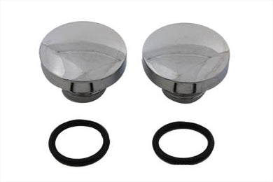 Tall Style Billet Vented And Non-Vented Gas Cap Set FL 1983/1984 FXST 1984/1995 FLST 1986/1995 FX 1983/1984 FXR 1983/1994 FLT 1983/1995