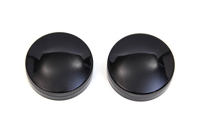 GAS AND OIL CAP SET BLACK G 1937/1973 W 1937/1952