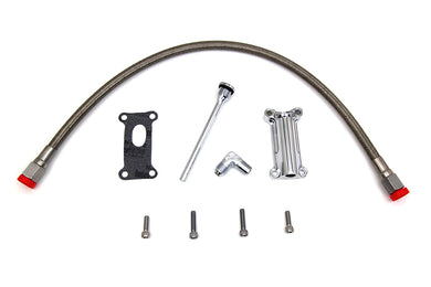 RADIUM CHROME OIL FILLER KIT FLHT 2002/2006