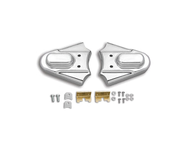 REAR FRAME COVER SET CHROME FXST 1986/1999 FLST 1986/1999