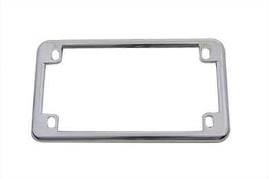 LICENSE PLATE FRAME CHROME Custom 0/