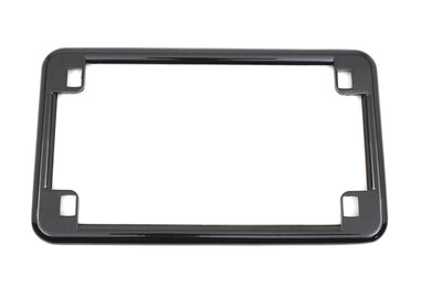 LICENSE PLATE FRAME BLACK Custom 0/