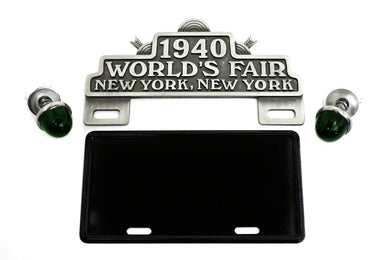 WORLD'S FAIR LICENSE PLATE TOPPER KIT Custom 0/