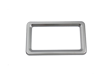 LICENSE PLATE FRAME CHROME BILLET Custom 0/