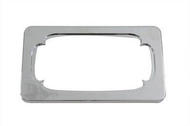LICENSE PLATE FRAME THORN STYLE CHROME BILLET Custom 0/