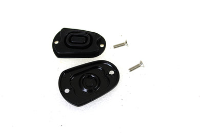 REAR MASTER CYLINDER COVER BLACK XL 2014/UP