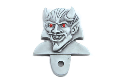DEVIL LICENSE PLATE TOPPER