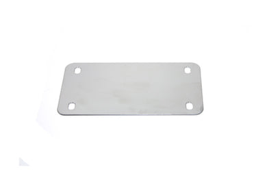 LICENSE PLATE HOLDER CHROME Replacement 0/