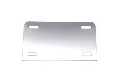 LICENSE PLATE FRAME BACKING PLATE CHROME Custom 0/