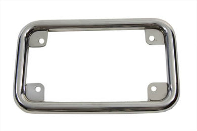 LICENSE PLATE FRAME STAINLESS Custom 0/