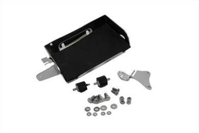 CHROME BATTERY CARRIER KIT FLH 1970/1979