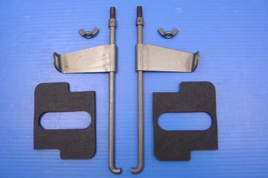 PARKERIZED BATTERY ROD SET WITH FLAG AND PADS EL 1936/1952 UL 1938/1948 FL 1941/1957
