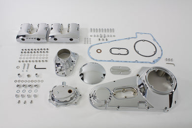 CHROME ENGINE DRESS UP KIT HARLEY FL 1970/1984 FL 1970/1984