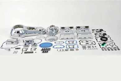 CHROME ENGINE DRESS UP KIT HARLEY DAVIDSON FXST FLSTC 2001/2006 FLST 2006 FXST 2001/2006 FLST 2006/2006 FLSTC 2001/2006